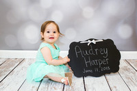 Baby Audrey - First Birthday Cake Smash | Maryland Family Photographer